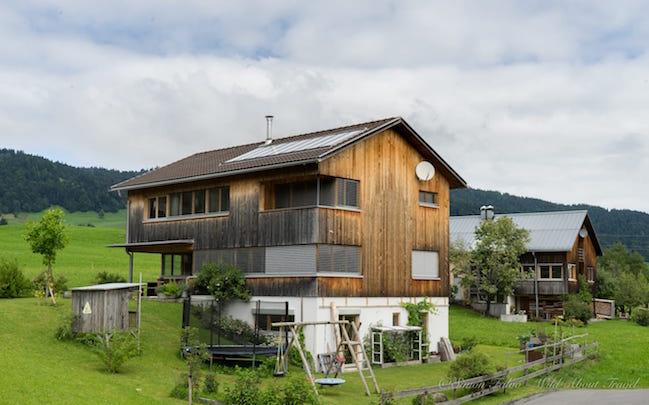 Bregenzerwald Modern Archtecture Farmhouse