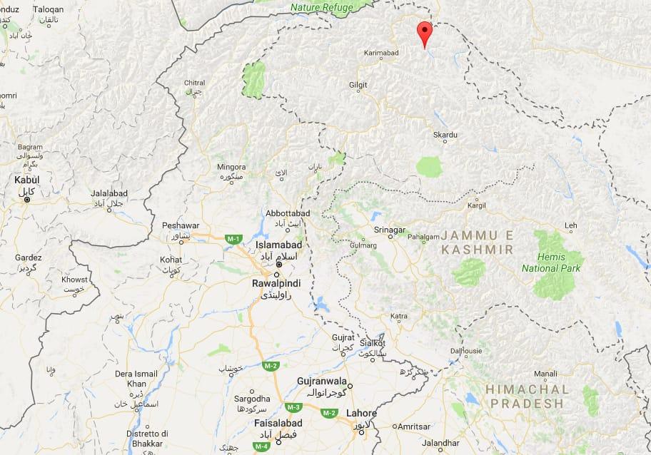 Shimshal Map