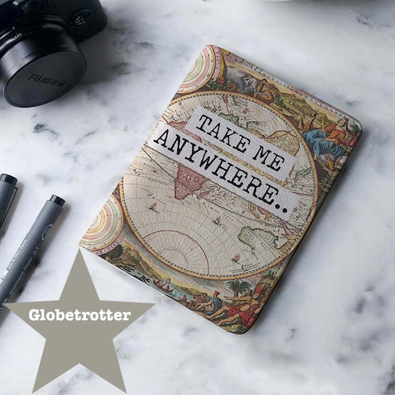 Passport Holder Globetrotter