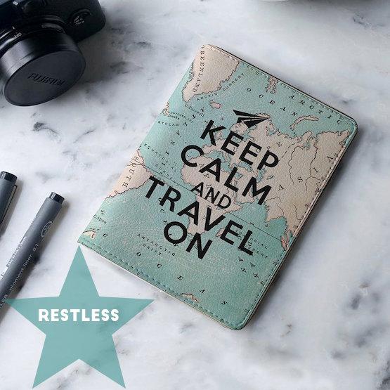 Passport Holder Keep Calm