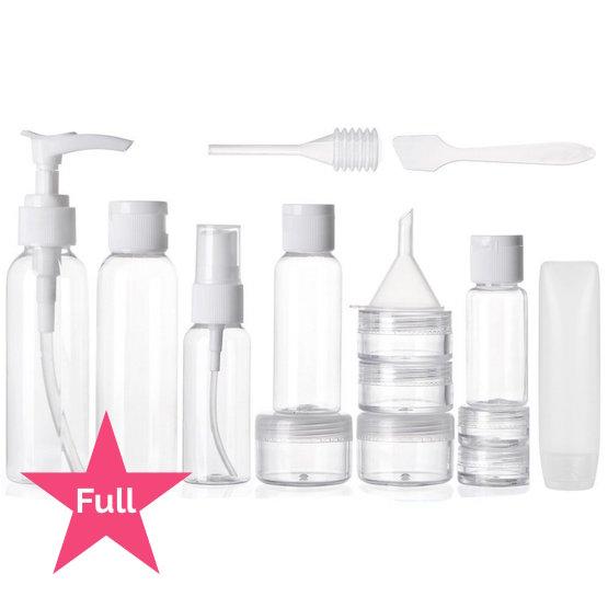 Travel Bottles Kit