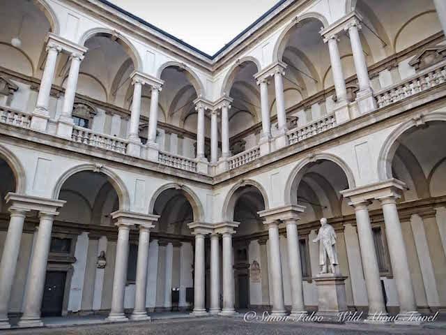 Milan Accademia di Brera