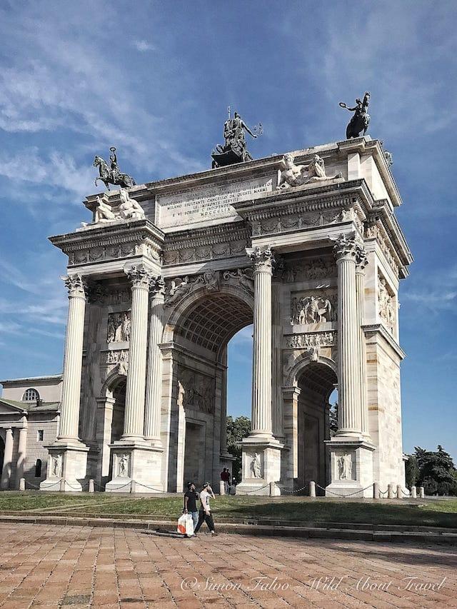 Milan Arco della Pace