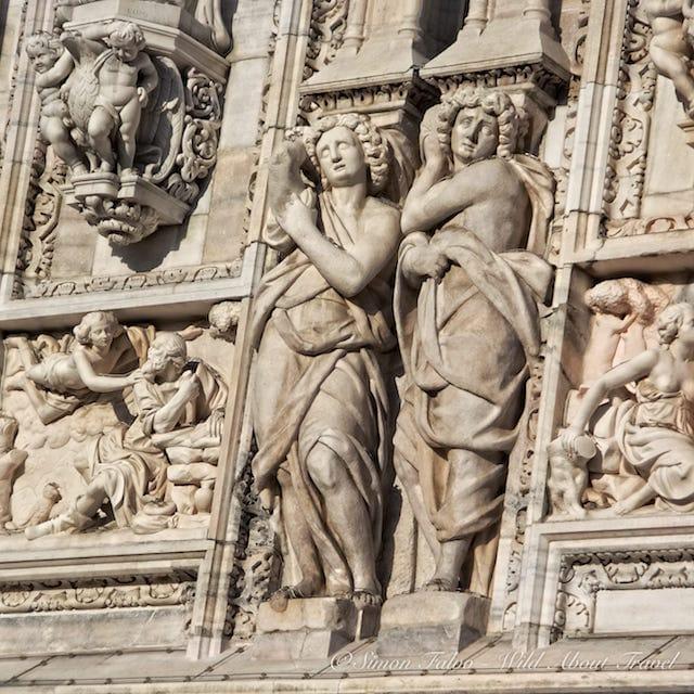 Milan Duomo Sculptures [2]