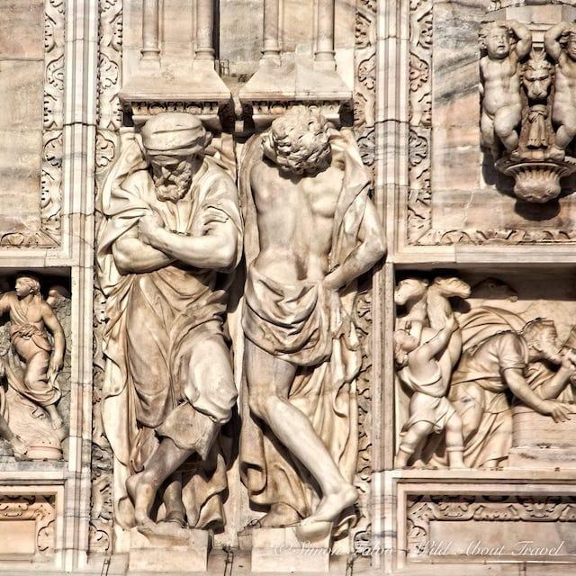 Milan Duomo Sculptures