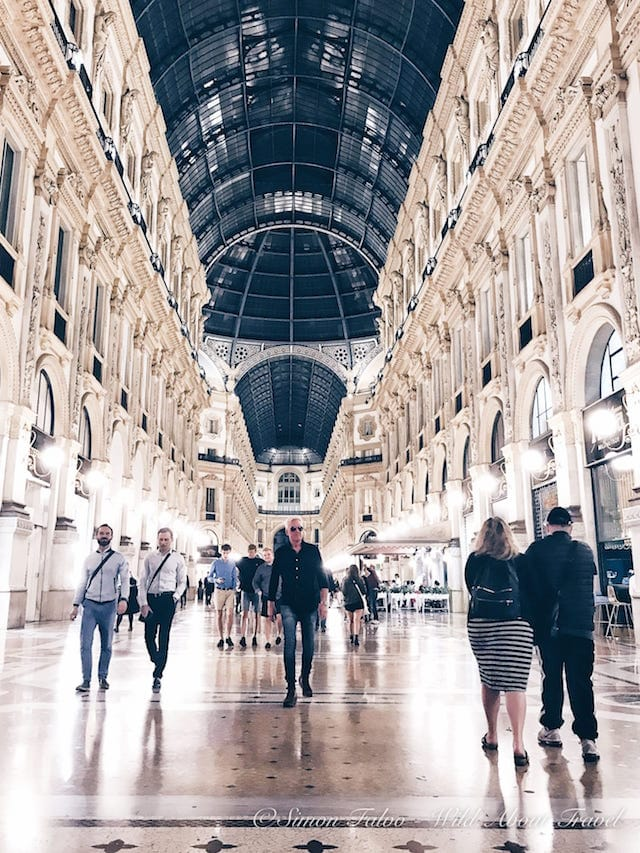 Milan Galleria Vittorio Emanuele at Night [2]
