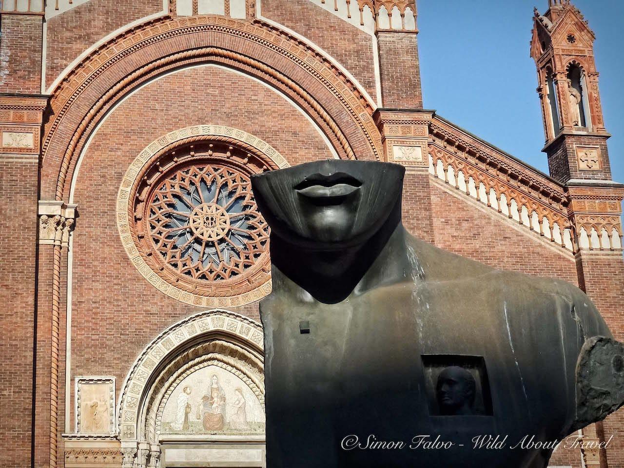 Milan Piazza del Carmine