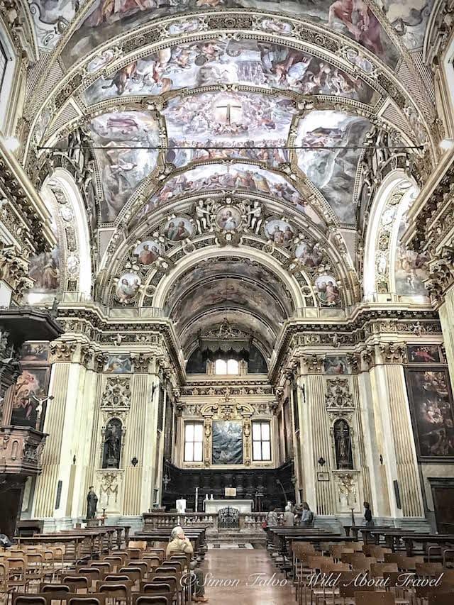 Milan S. Antonio Abate Frescoes
