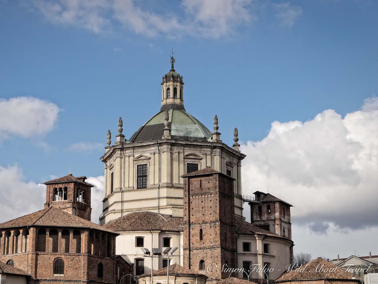 Milan S. Lorenzo Basilica