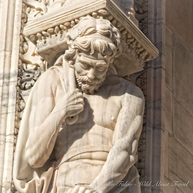 Sculpture Milan Cathedral