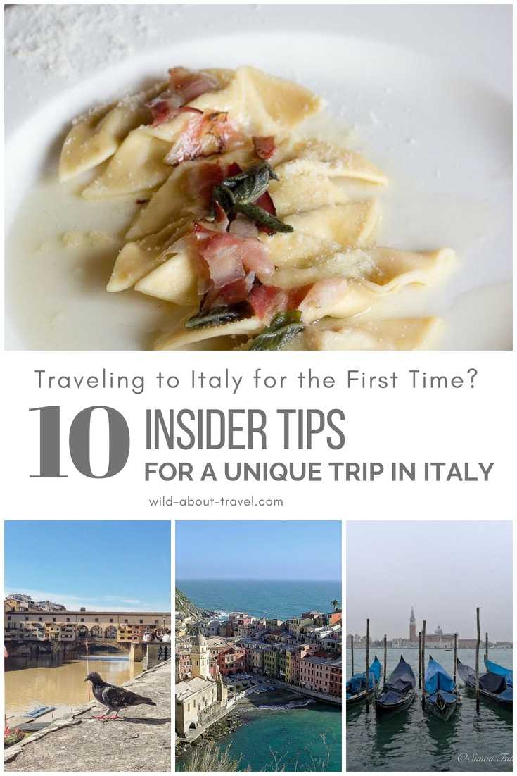 Traveling to Italy for the First Time