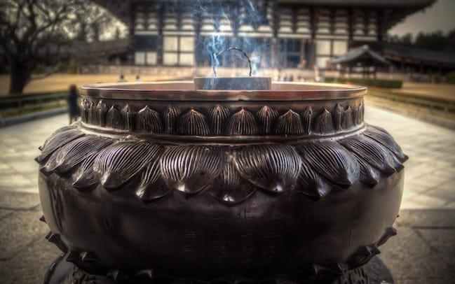 Japan Incense Offerings