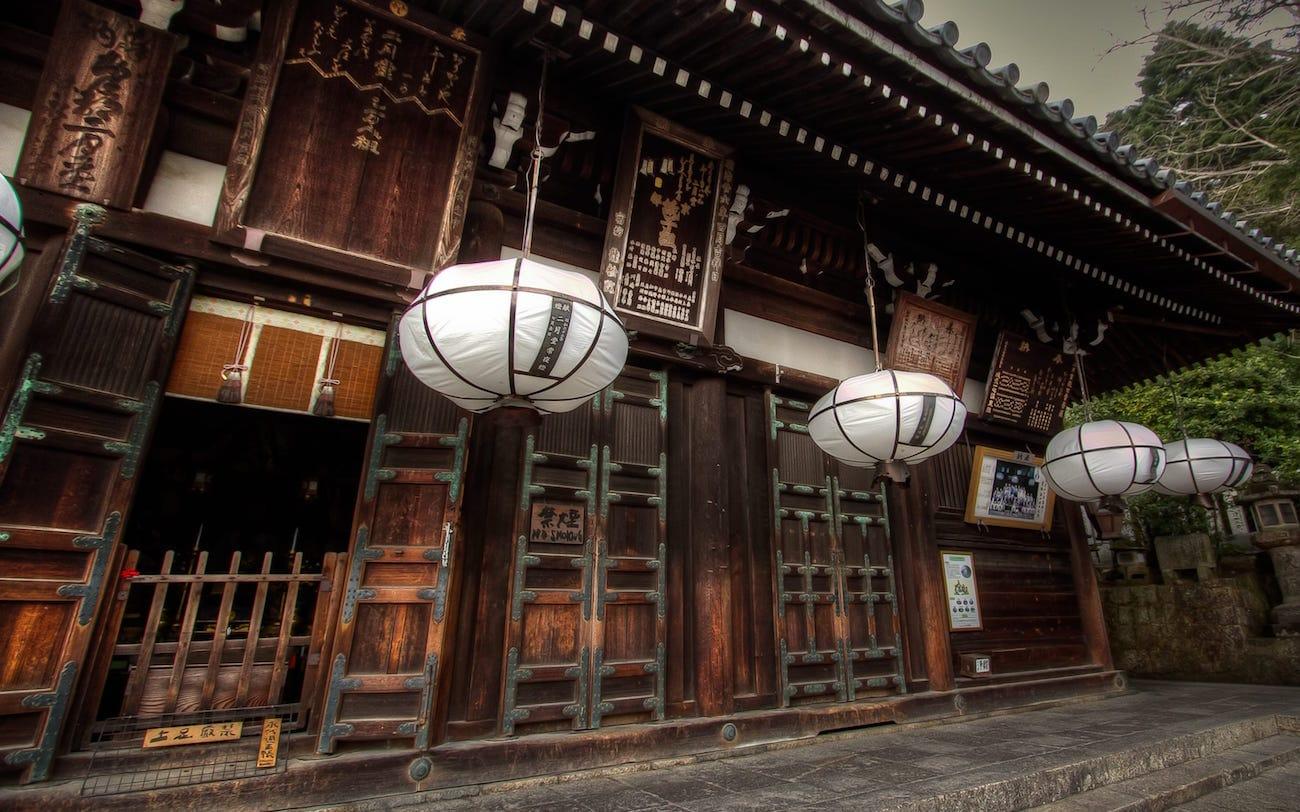 Must see in Nara Nigatsu-Do Temple
