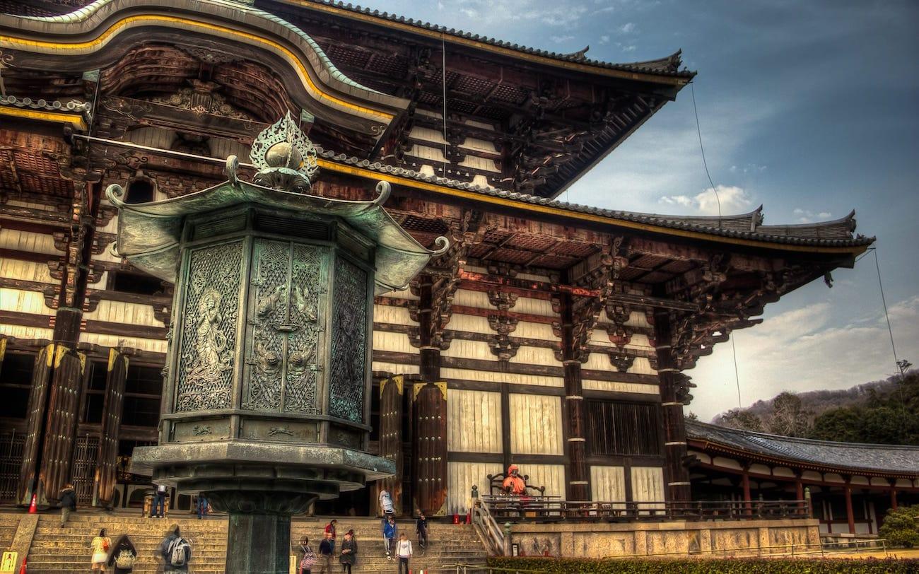 Nara Todai-ji Temple