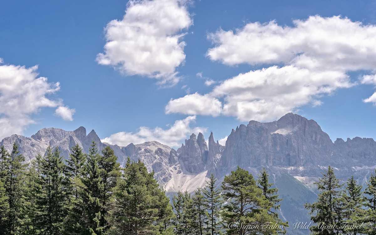 Dolomites, Rosengarten Range