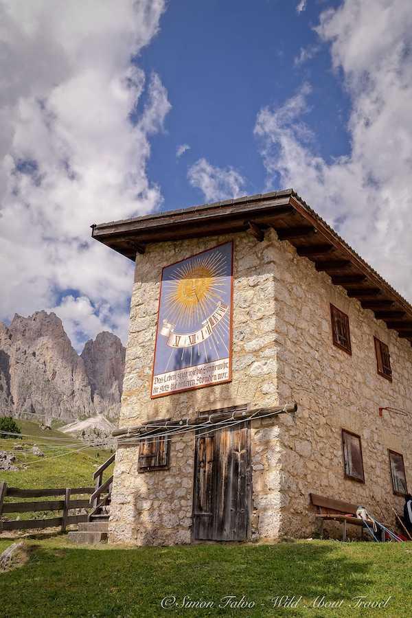 Val Gardena Behind Rifugio Firenze