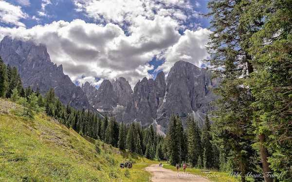 Dolomites, Hiking Seiser Alm