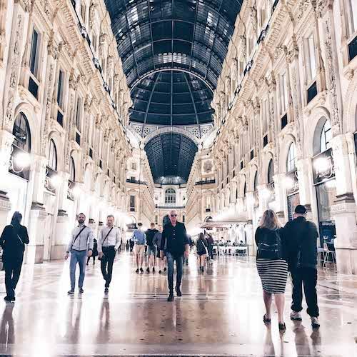 Milan Galleria Vittorio Emanuele II