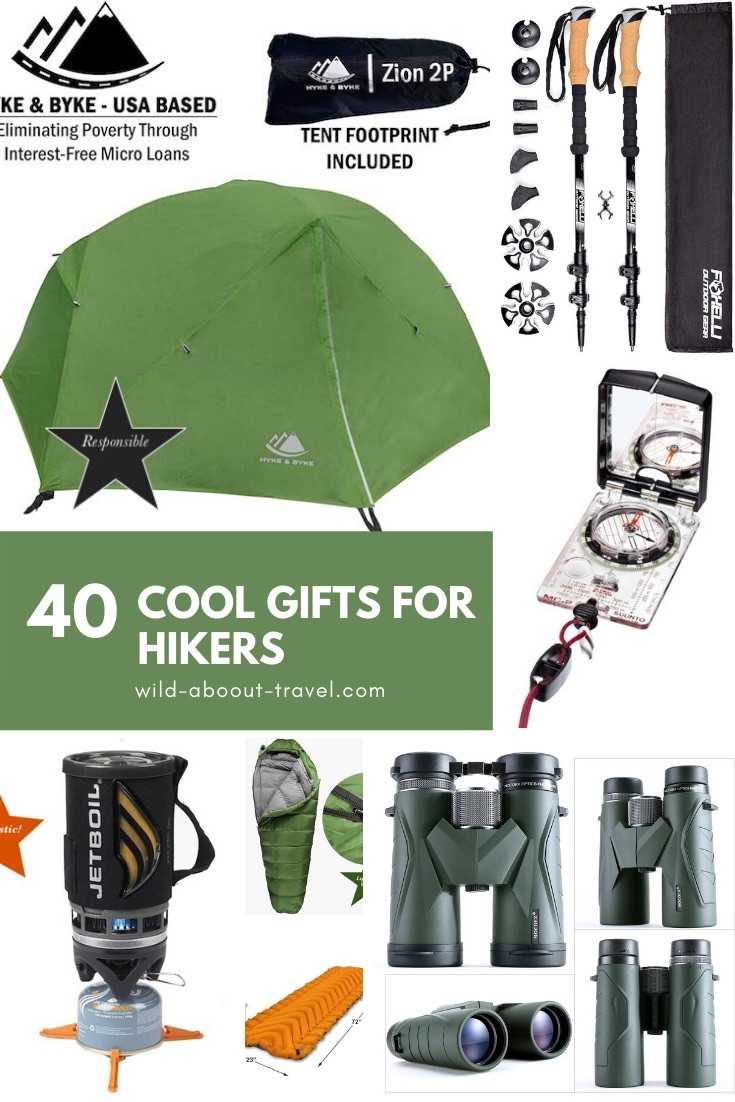 40 Cool Gifts for Hikers