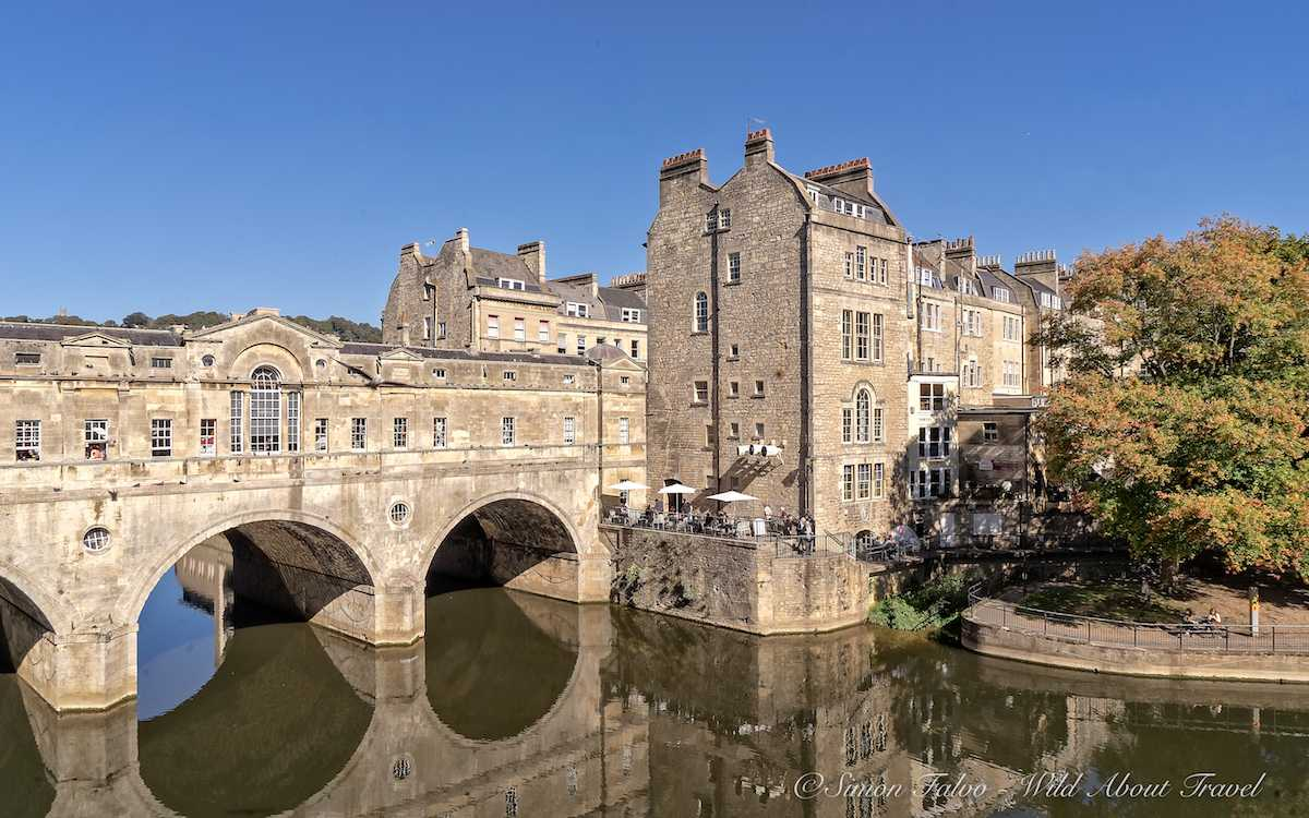 Bath Pulteney Bridge - by Simon Falvo, Wild About Travel