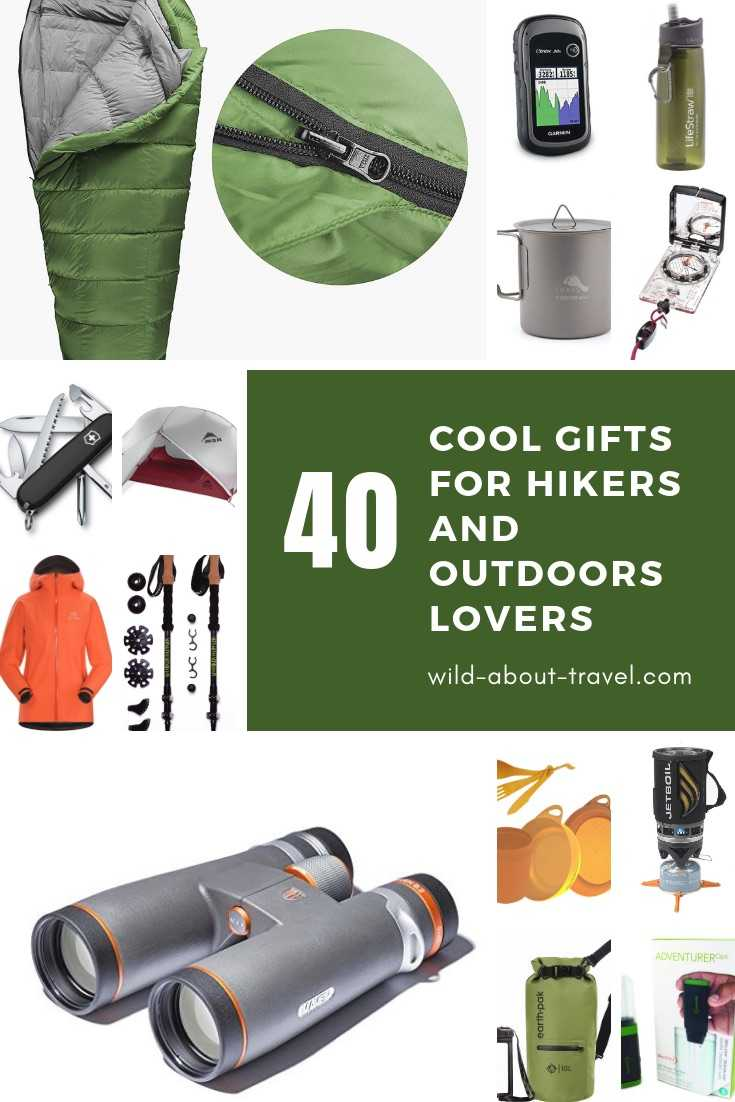 Are You Looking For Christmas Presents Ideas That Will Make A Passionate Hiker Happy? Have A Look At My List Of Carefully Picked Cool Gifts For Hikers And Outdoors Lovers. Must-Have hiking clothes and basics. Water filter and purifier for the environmentally conscious hikers. GPS, Compass, Binoculars. Camping gear for long-distance hikes. Hiking books. #travel #xmas #hiking #christmasgifts #giftsideas