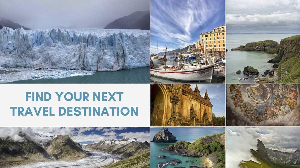 Find Your Next Travel Destination