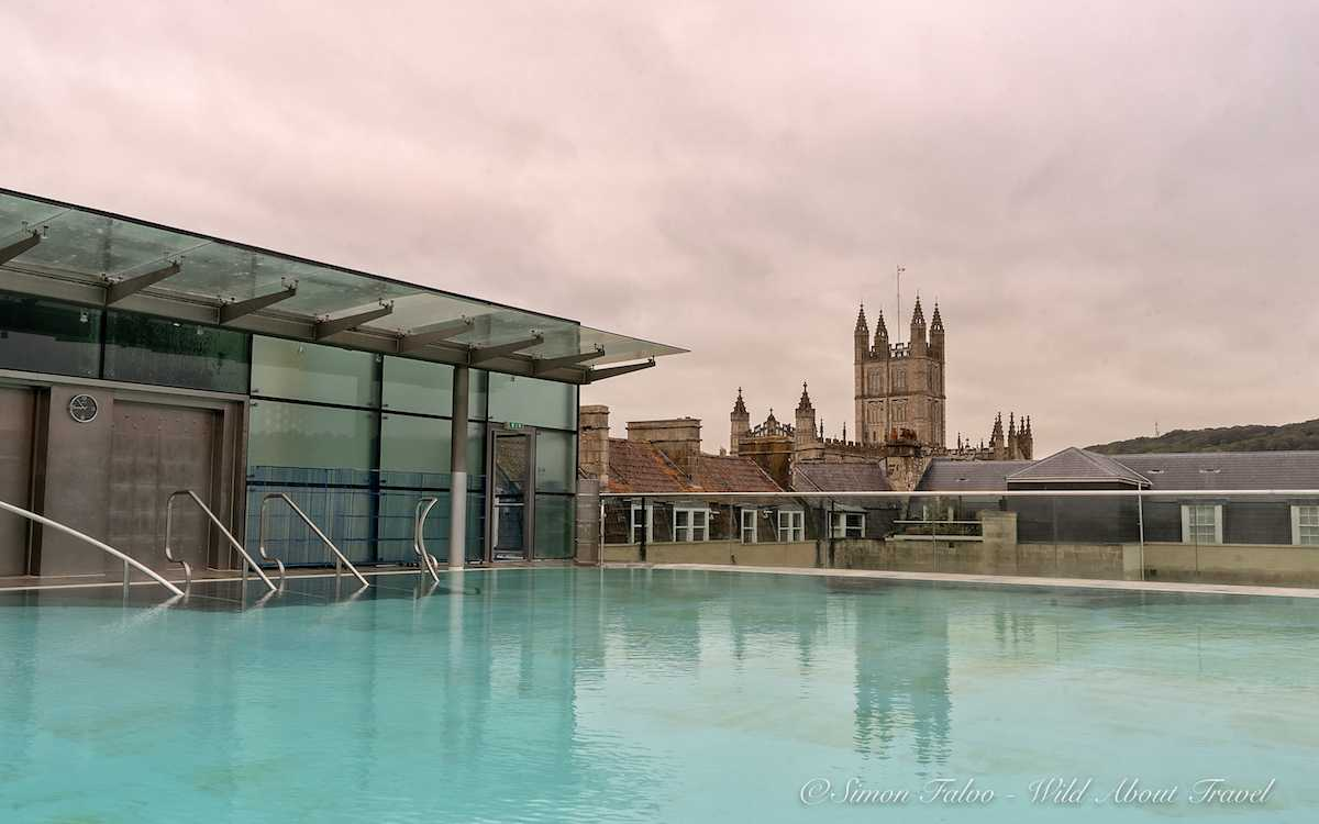 Thermae Bath Spa Rooftop Pool