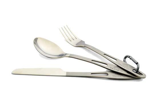Toaks Titanium Cutlery Set