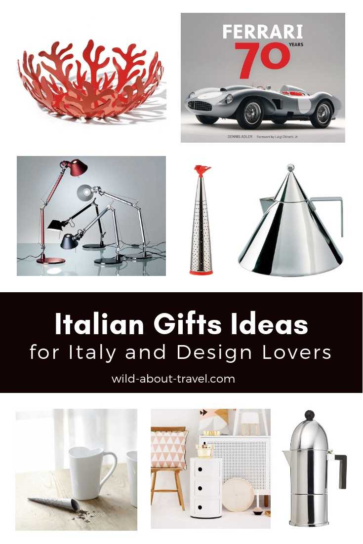 Italian Gifts Ideas for Italy and Design Lovers