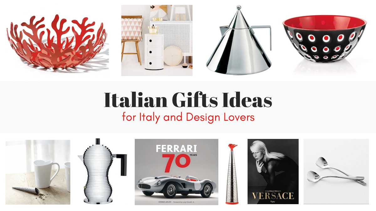 Italian Themed Gifts
