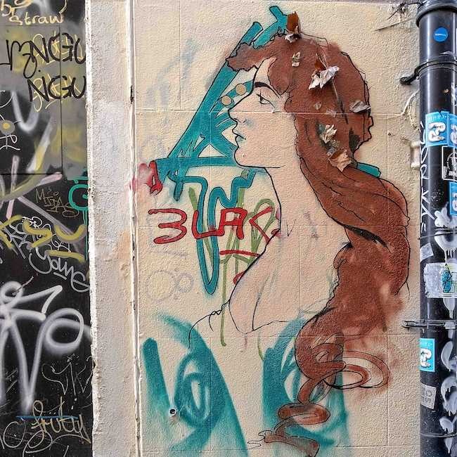 Bristol Graffiti Leonard's Lane