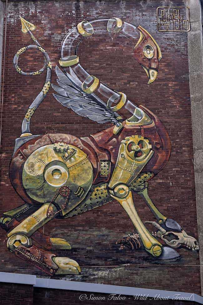 Bristol - Mural by Pixelpancho