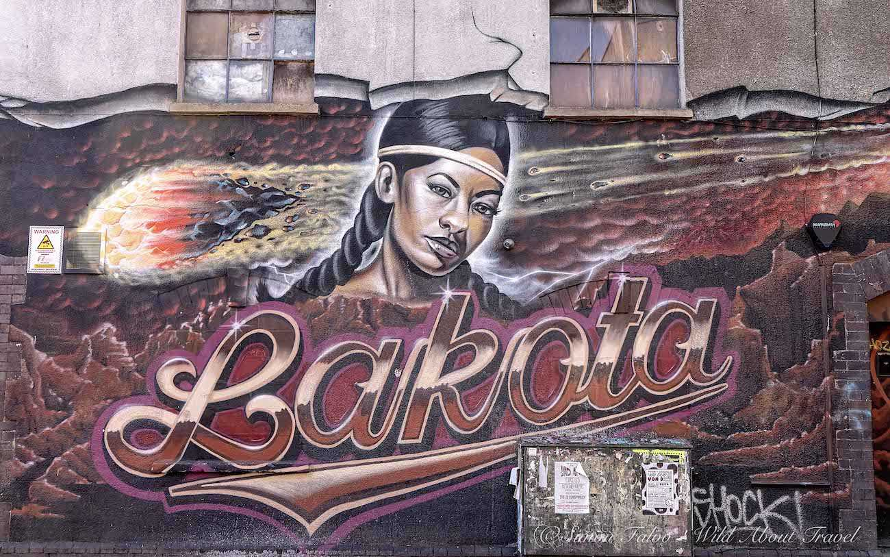 Bristol Street Art - Mural in Stokes Croft