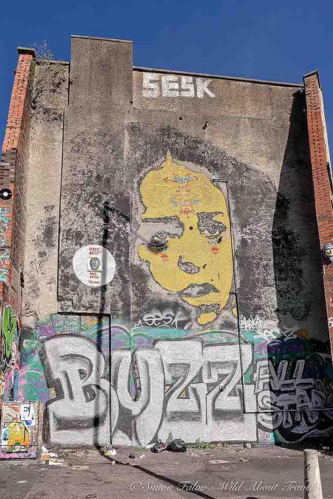 Bristol Street Art - Stinkfish Mural