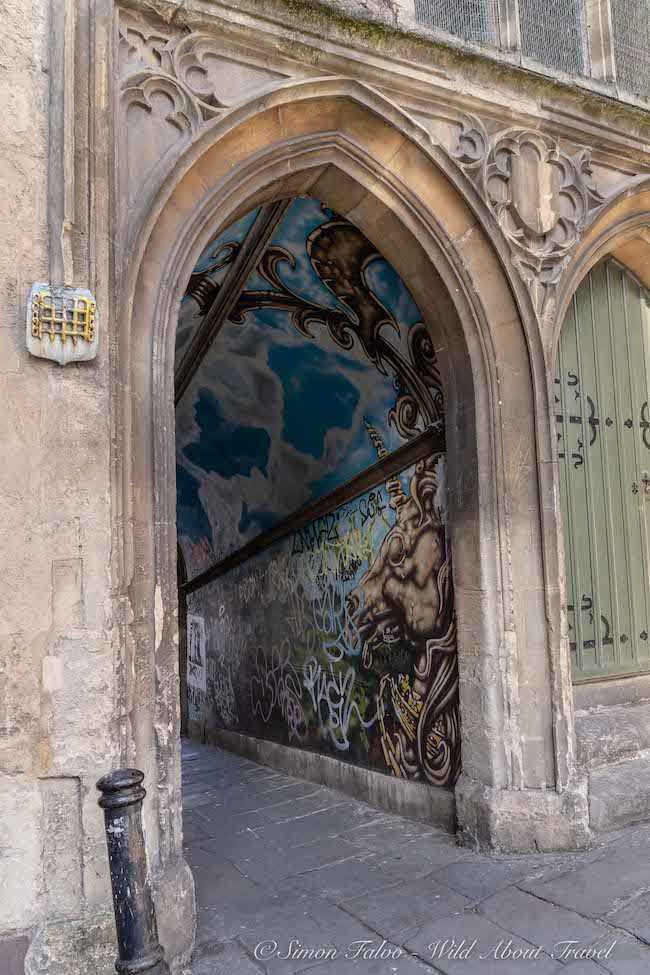 Bristol Street Art - Unicorn by Feek