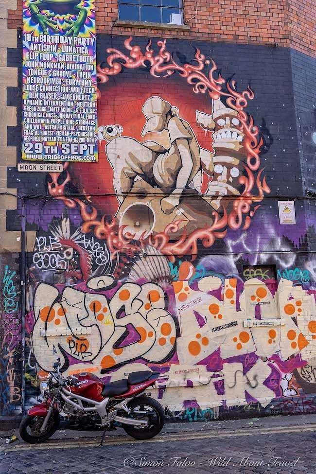 Bristol Urban Art -Mural by Cheo