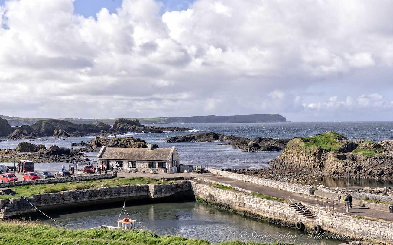Northern Ireland Ballintoy Harbor