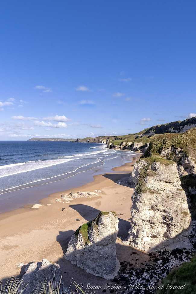 Northern Ireland White Rocks Bay