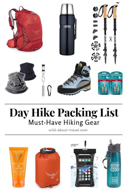 Day Hike Packing List Essentials