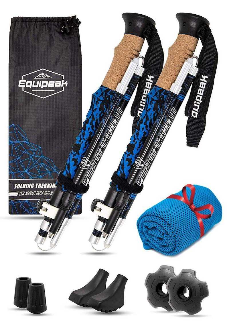 Equipeak Collapsible Folding Hiking