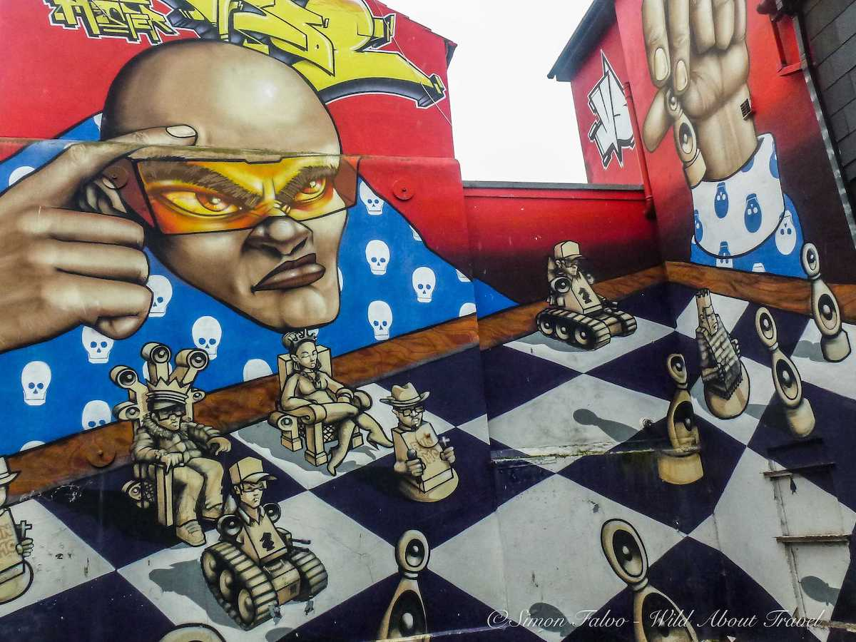 Brighton - Odisy and Aroe, The Run DMC Mural