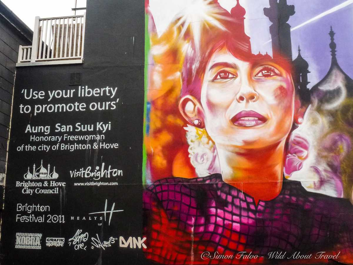 """Dominic Alves,Aung San Suu Kyi""""Use Your Liberty to Promote Ours"""""""