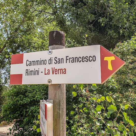 Cammino di San Francesco Signs