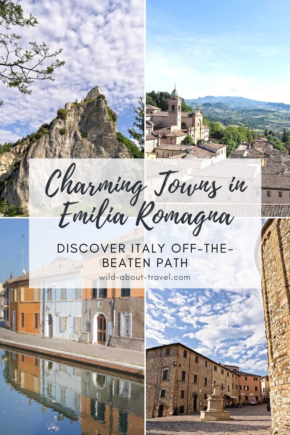 Charming Small Towns in Emilia Romagna
