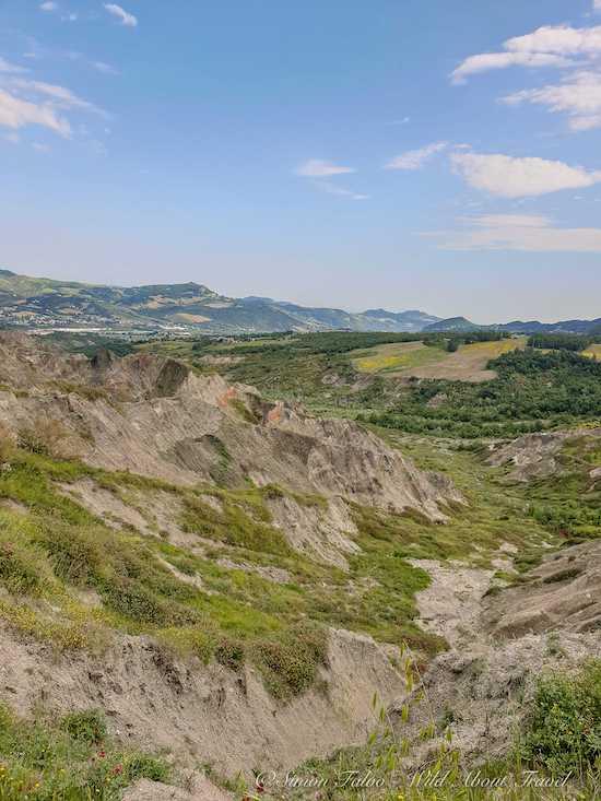Emilia Romagna, the Clay Ravines of Maioletto