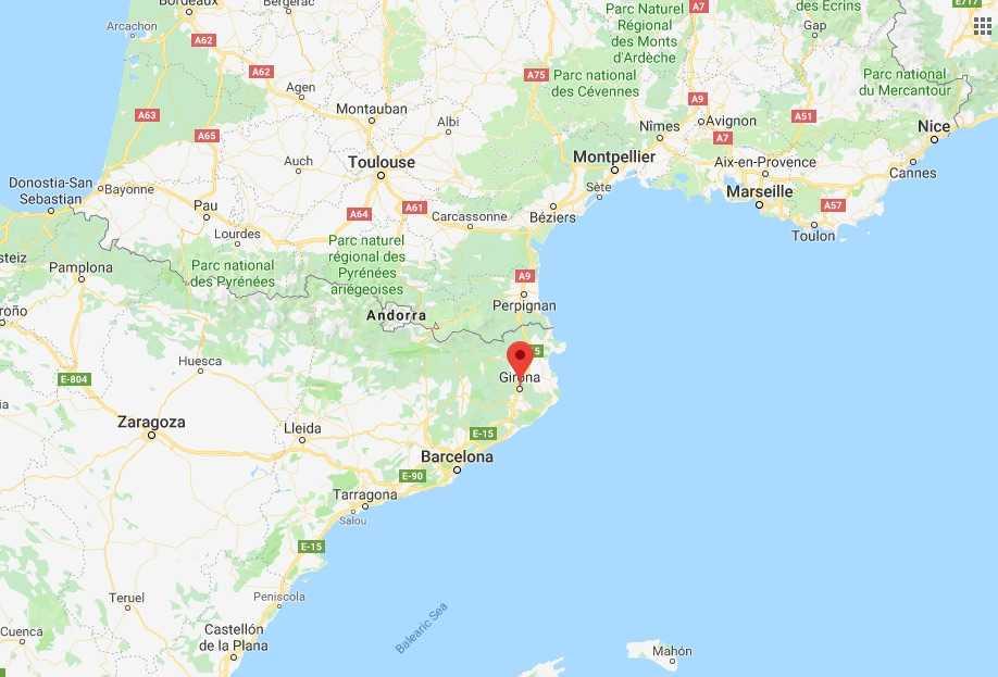 Where is Girona?