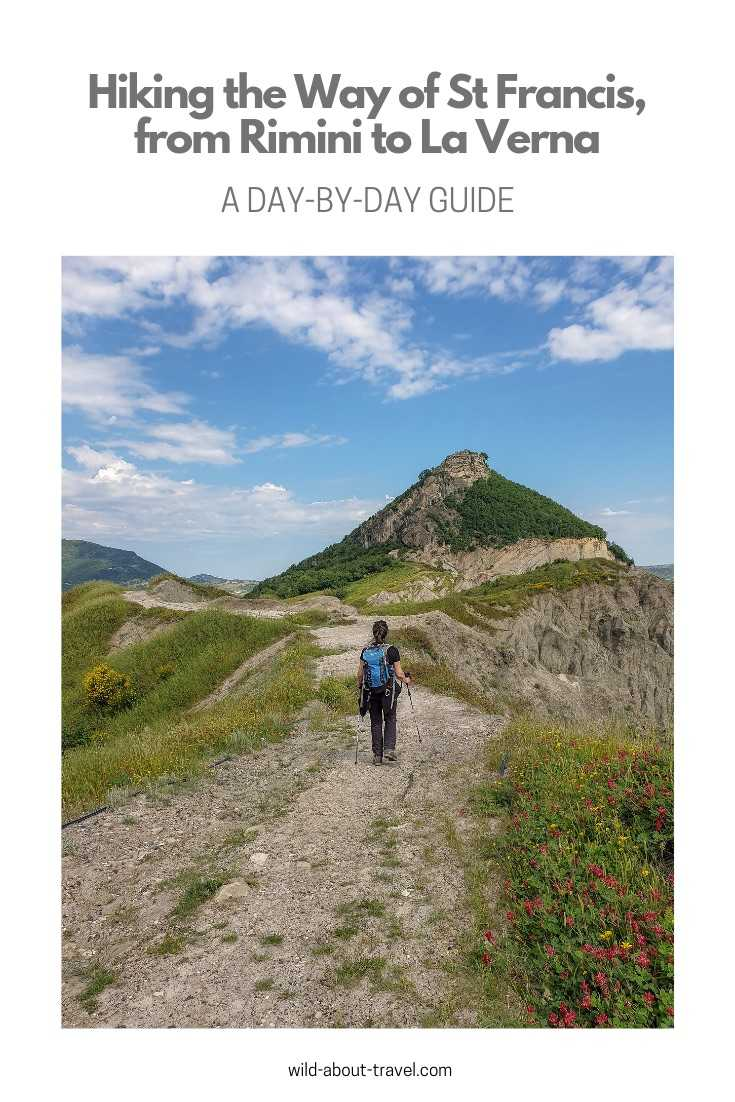Hiking the Way of St Francis, from Rimini to La Verna