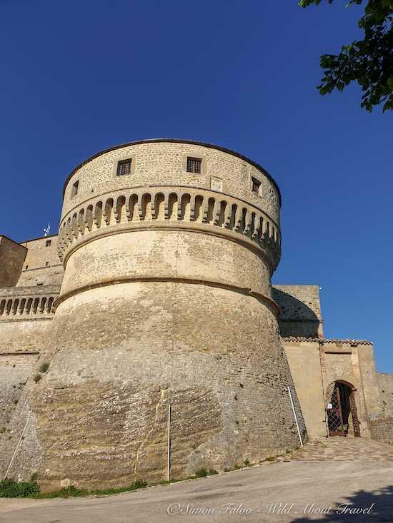 Tower, San Leo Fort