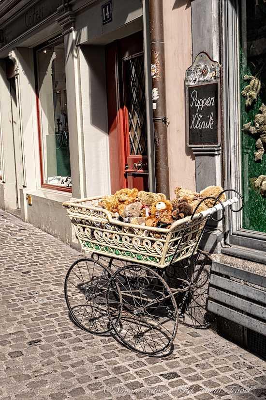 Zurich Altstadt Quirky Shop