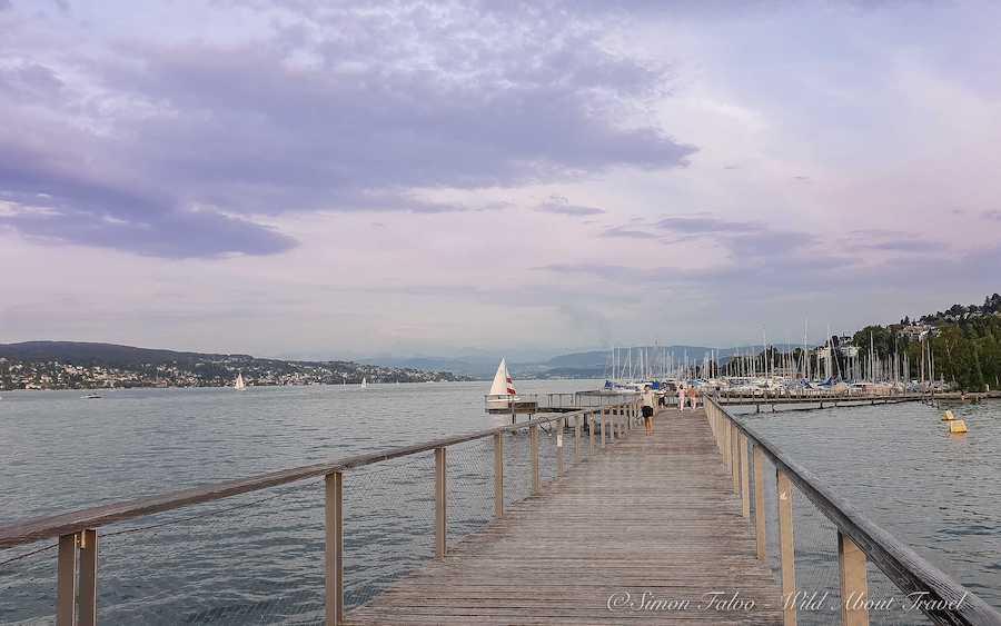 Zurich, Cassiopea Walk